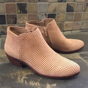 Sam Edelman Suede Ankle Boots Size 7